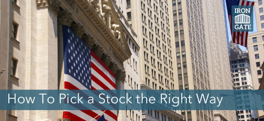 Value Investing The Right Way: Four Keys To Buying a Stock