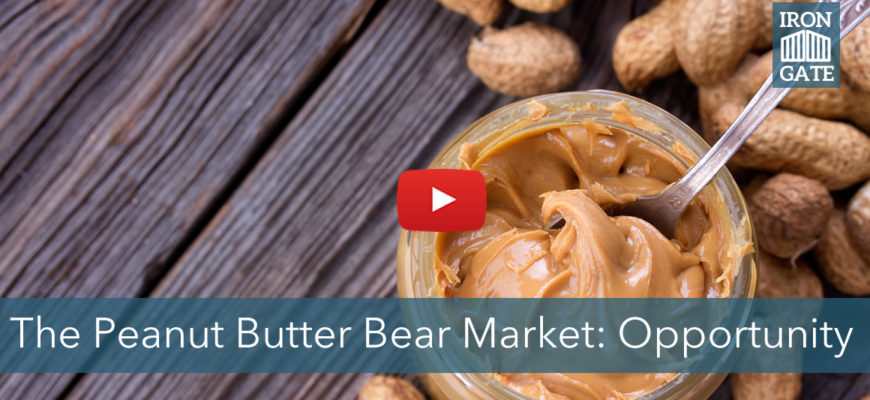 What We Learn About Contrary Opportunities From the Peanut Butter Bear Market
